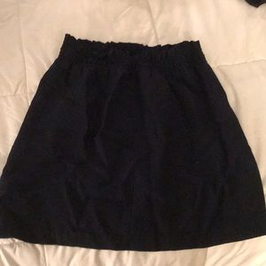 J crew elastic band skirt
